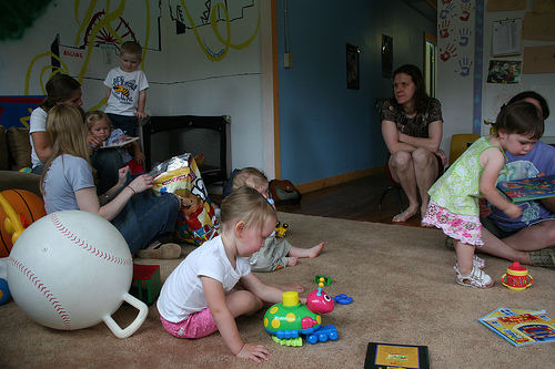A Parent and Toddler Group every Thursday