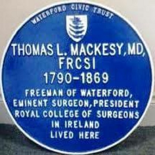 Blue Plaque to remember a former Mayor of Waterford