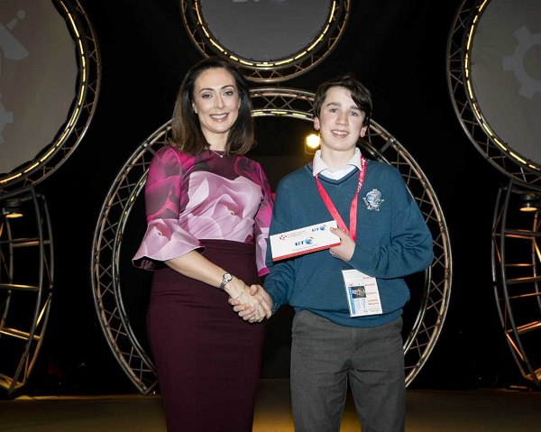 Tramore student wins prize at BT Young Scientist Exhibition
