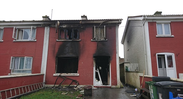 Appeal for information following suspicious fire in Ballybeg