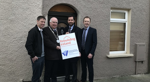 Minister praises Waterford Council for housing scheme