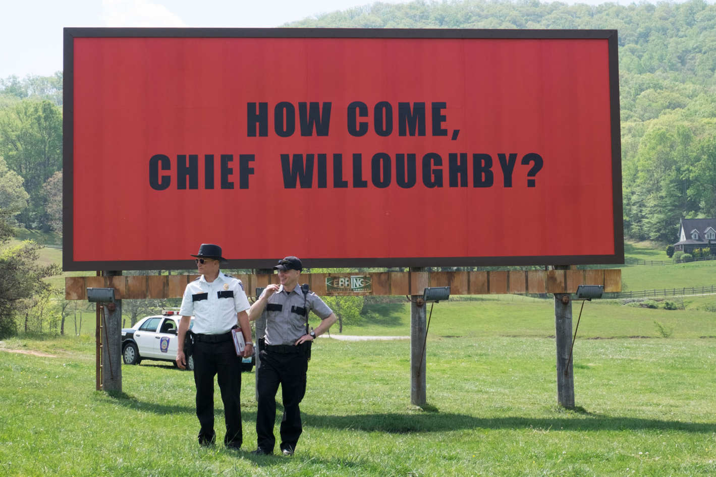 """""""Three Billboards outside Ebbing, Missouri"""" has landed in Irish cinemas and Maria McCann says it lives up to the hype"""
