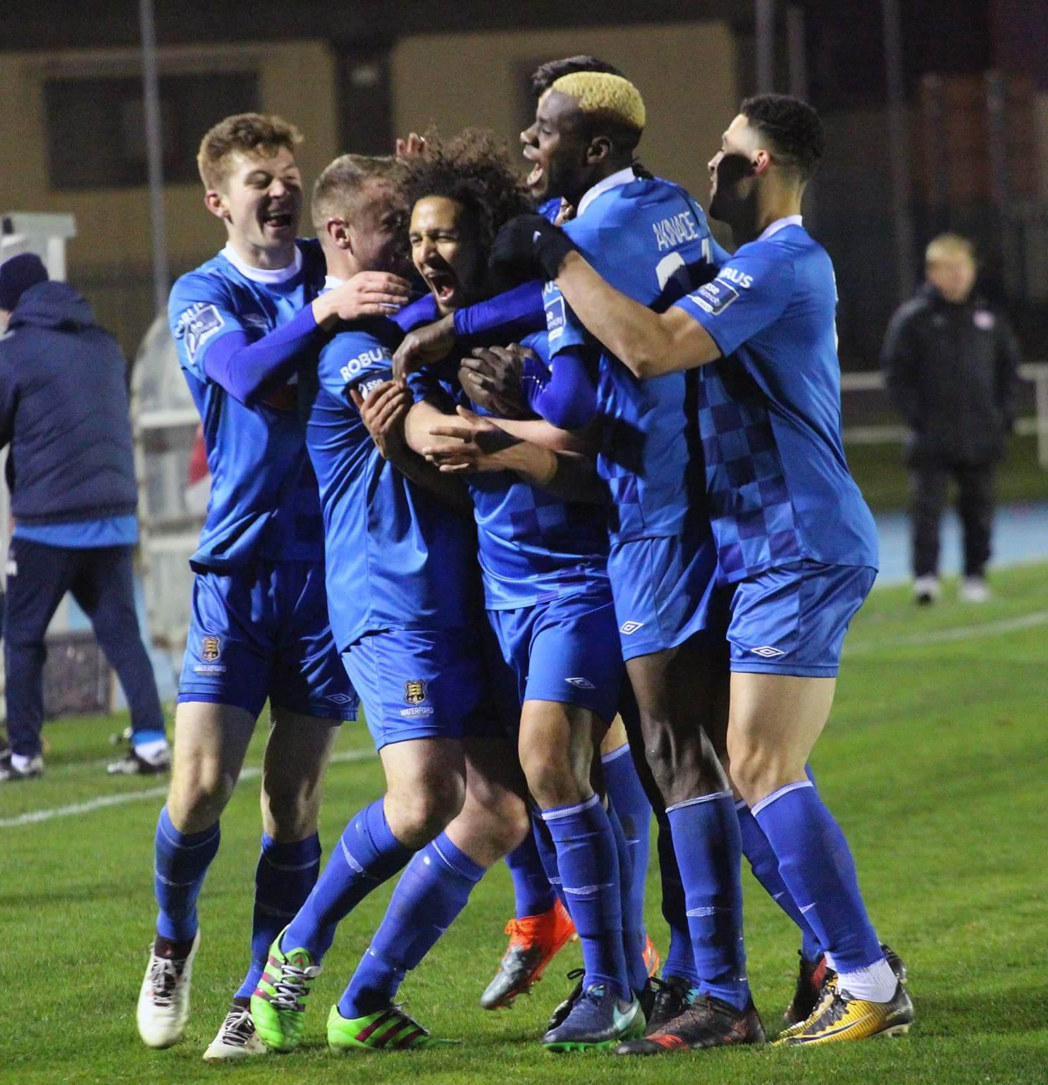 Waterford FC defeat St. Patricks Athletic 2 - 0.