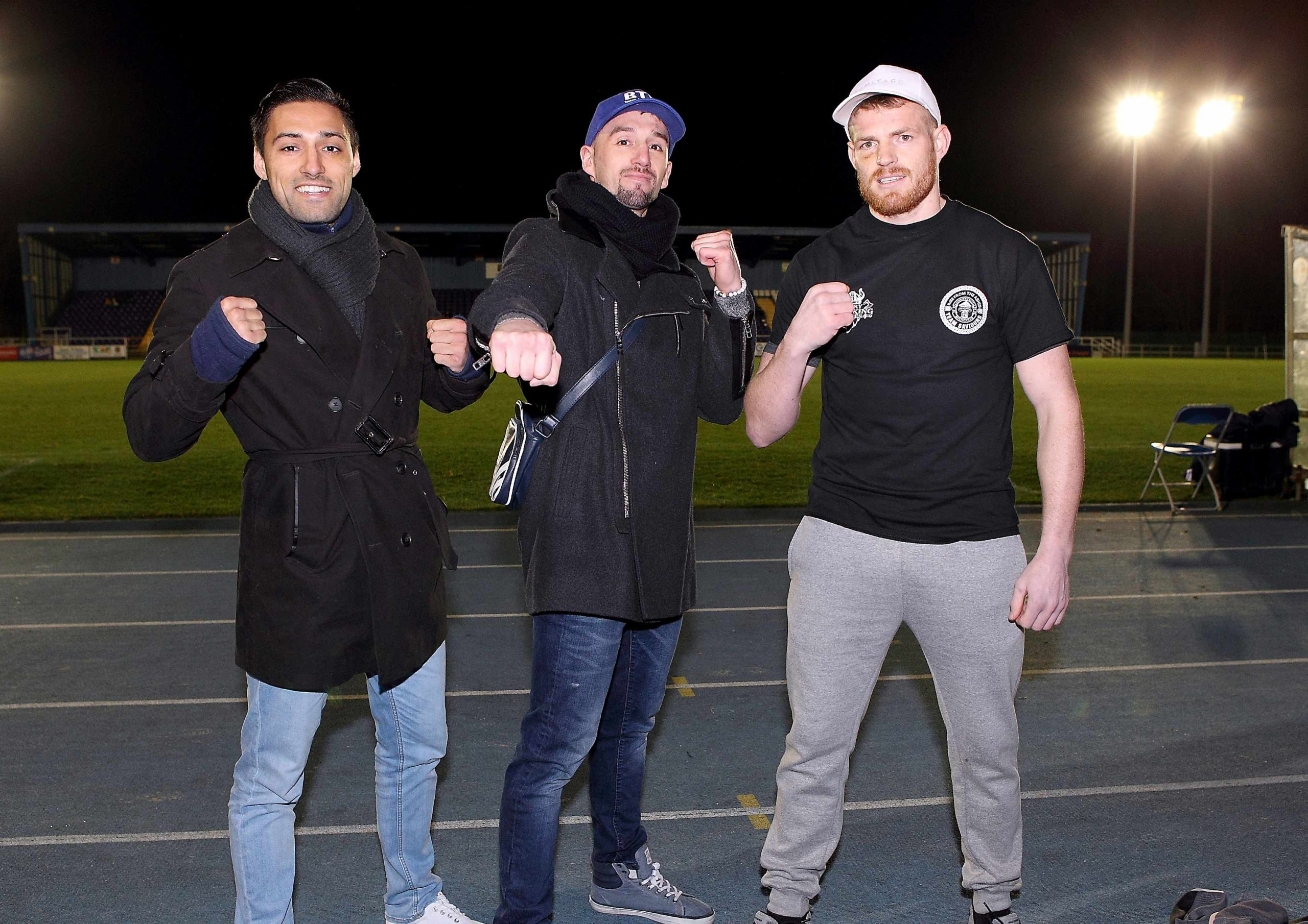 Boxing event in Waterford attracts a crowd of one thousand five hundred.