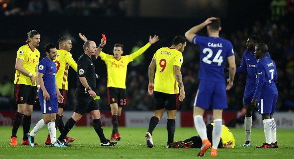 Chelsea suffer devastating loss at Watford