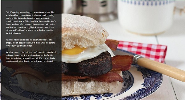 Waterford Blaa the subject of BBC Travel Feature