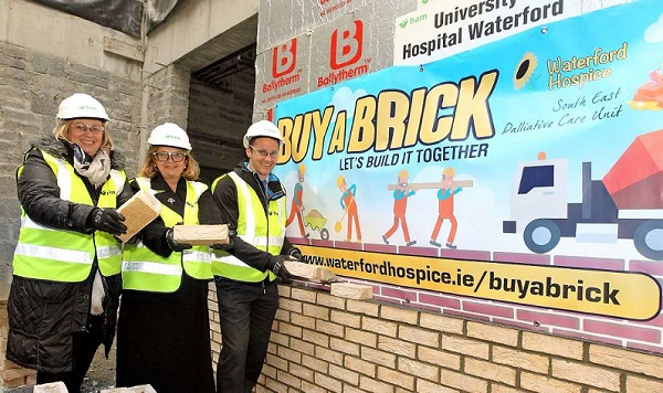 Waterford Hospice launches fresh appeal in the 'Buy A Brick' campaign.