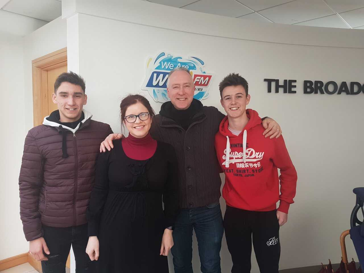 Listen: Students at Ardscoil na Mara tell Ollie and Mary about the miniature F1 car they're making