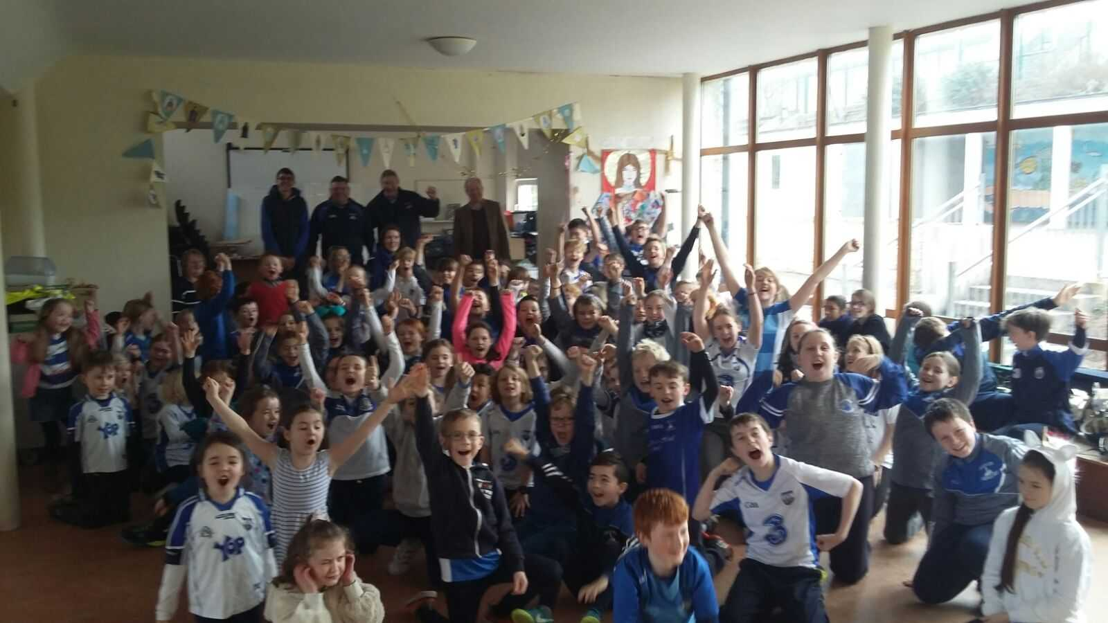 Kids in Ardmore are very excited about the Junior Club All Ireland hurling final!!