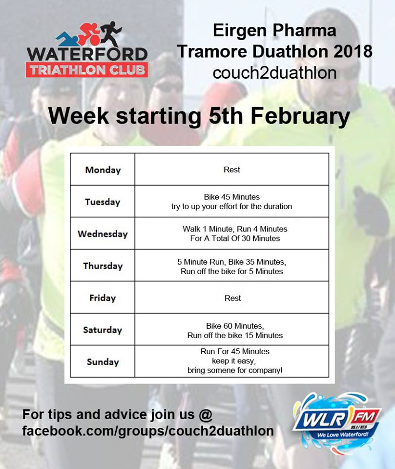 Are you doing the Tramore Duathlon? Just over two weeks remain...