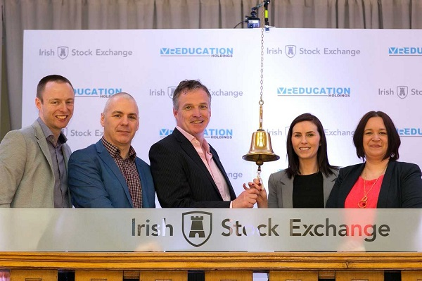Waterford tech firm VR Education starts trading on Irish Stock Markets