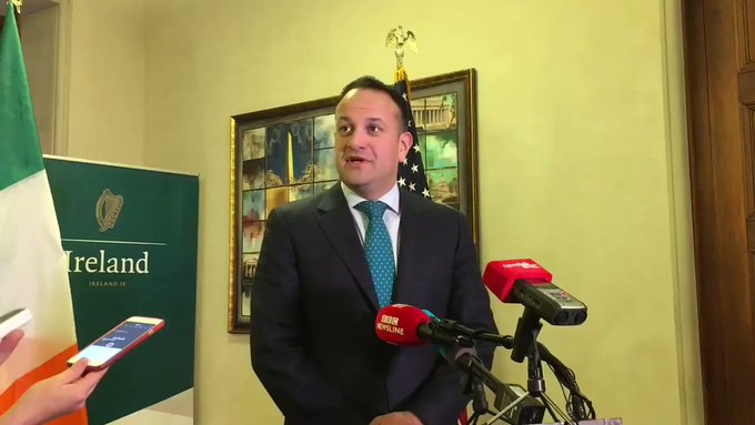 Trade is top of the Taoiseach's agenda for his meeting with Donald Trump later.