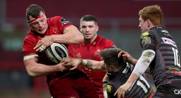 Munster recover from a shaky start to battle past Scarlets