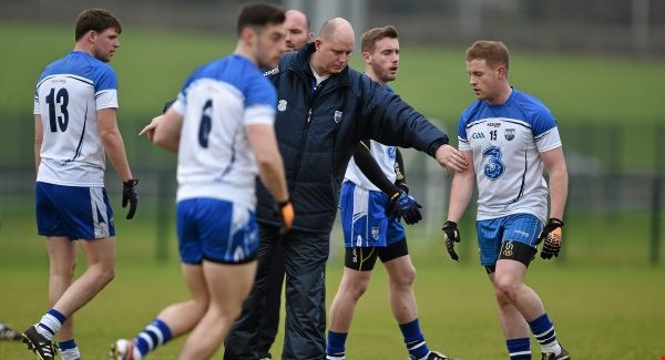 Angry reaction from Waterford Football Manager after fixture shelved.