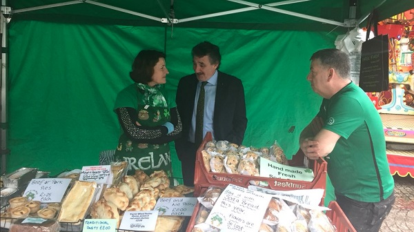 Waterford's John Halligan begins St Patrick's visit to Manchester and Liverpool