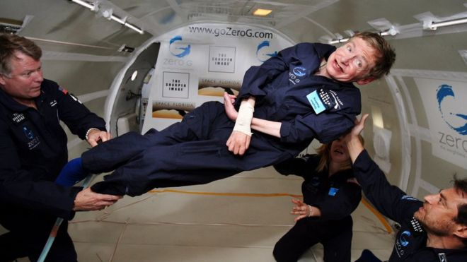 Tributes pour for Stephen Hawking, who's died aged 76