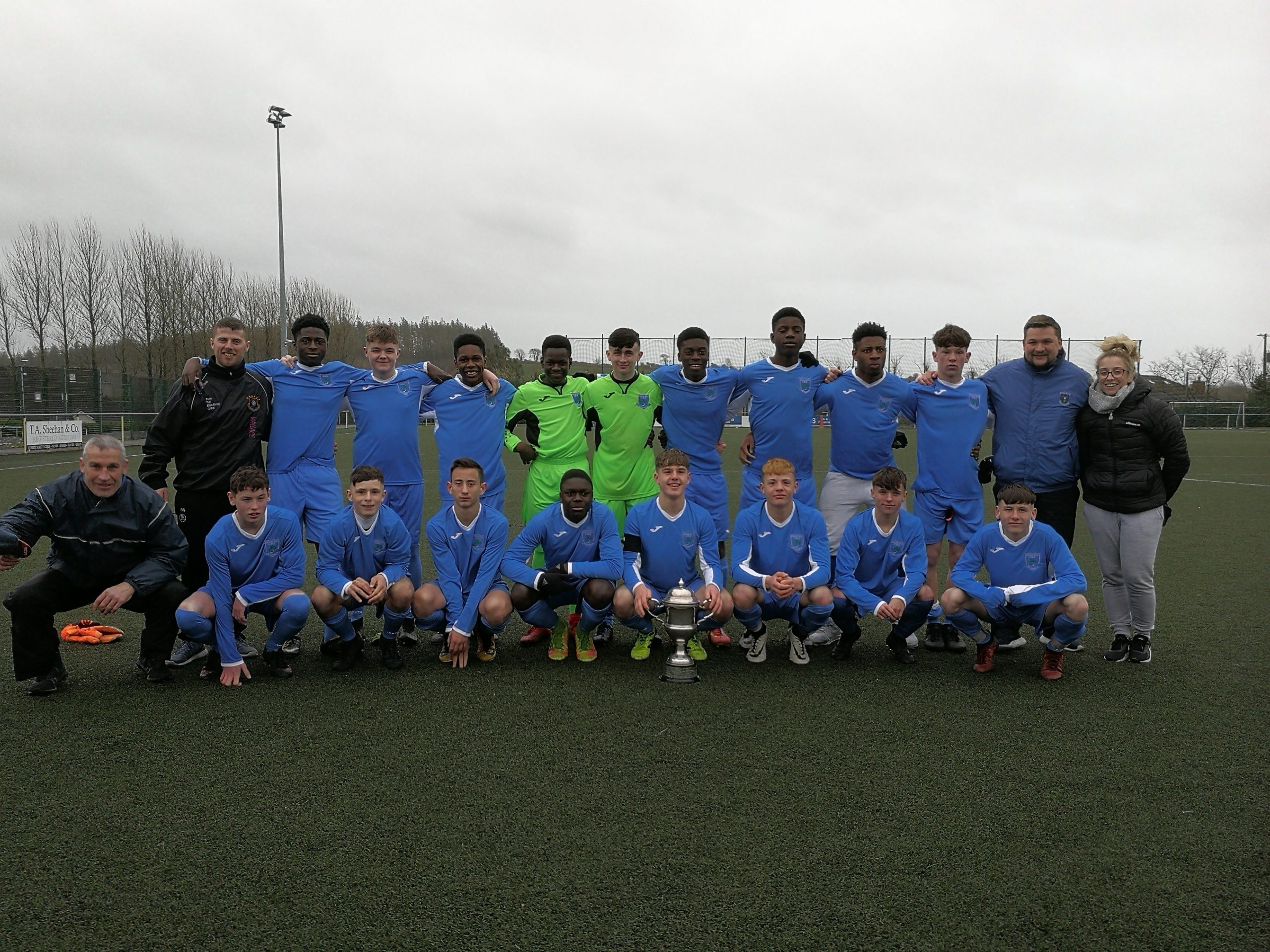 Munster Soccer glory for Mount Sion CBS