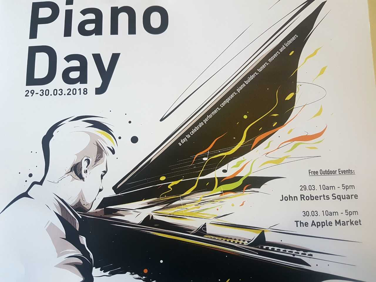 Listen: Plenty of events await lovers of the piano at the end of March