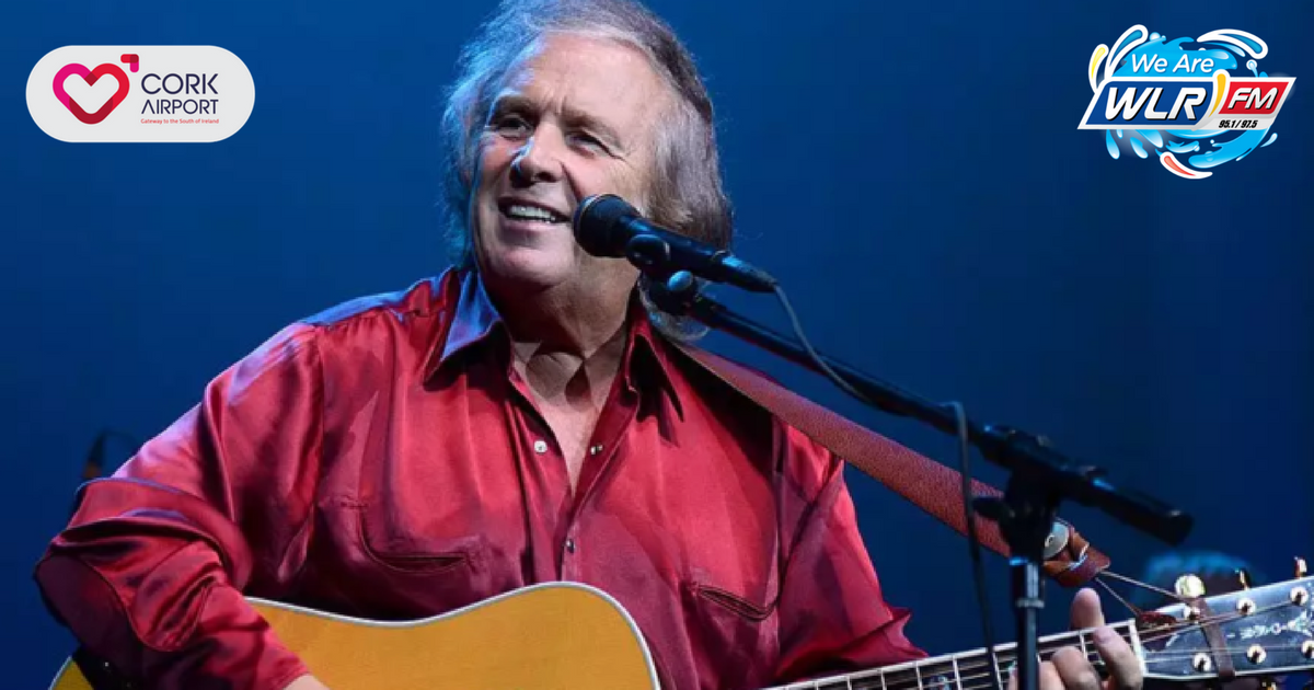 Listen: Geoff chats to Don McLean, the American singer and song writer, about his upcoming gig at Live at The Marquee in June