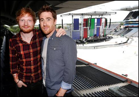 Jamie Lawson is confirmed to support Ed Sheeran on his Irish Tour