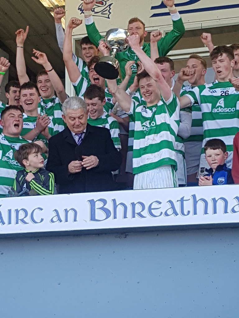 Ballinacourty crowned U-21 'A' Football County champions for second year running