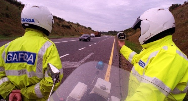 Cars caught speeding at 182km/hr in Waterford
