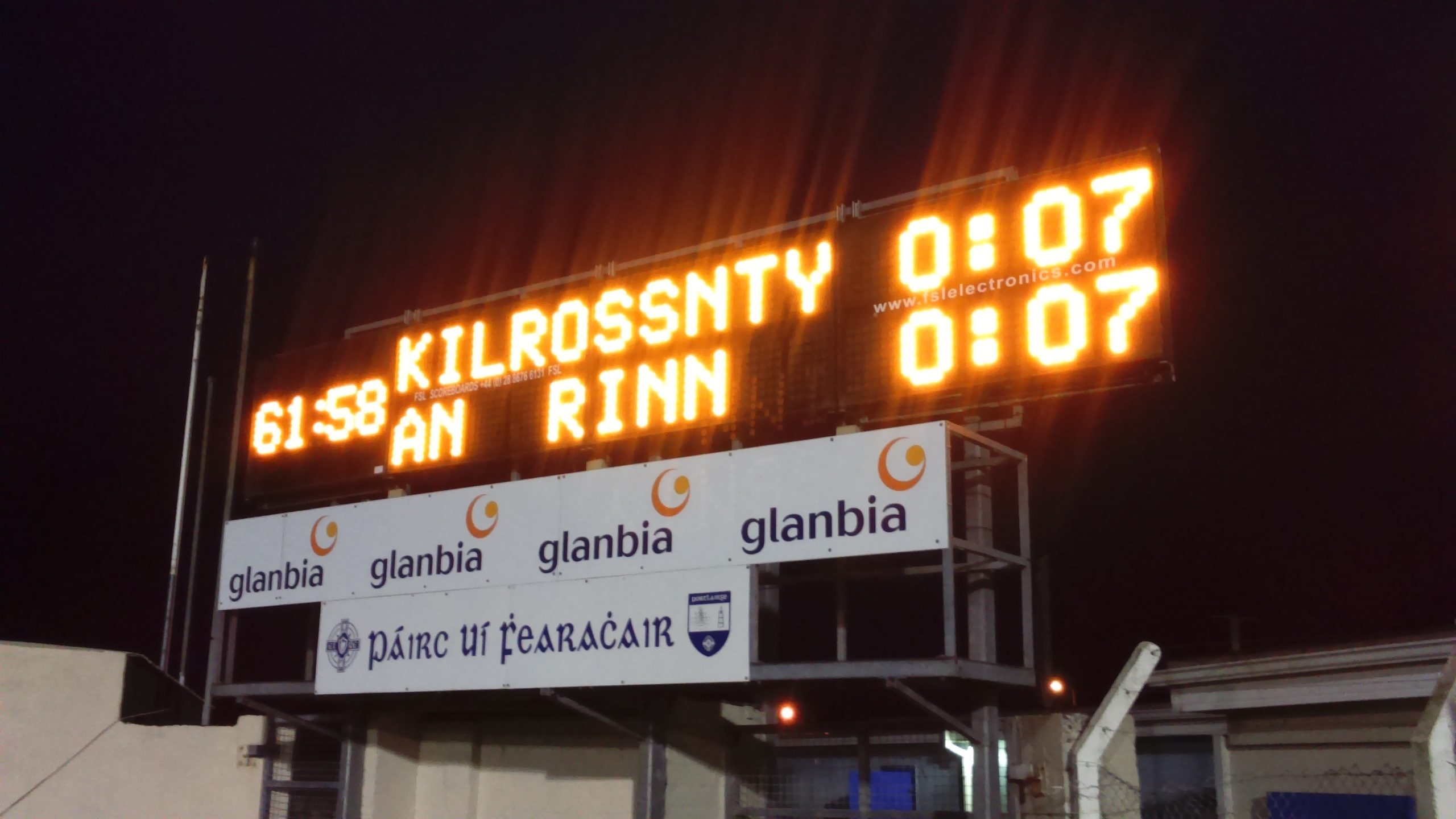 Round 1 of County Senior football Championship completed after yesterday's action