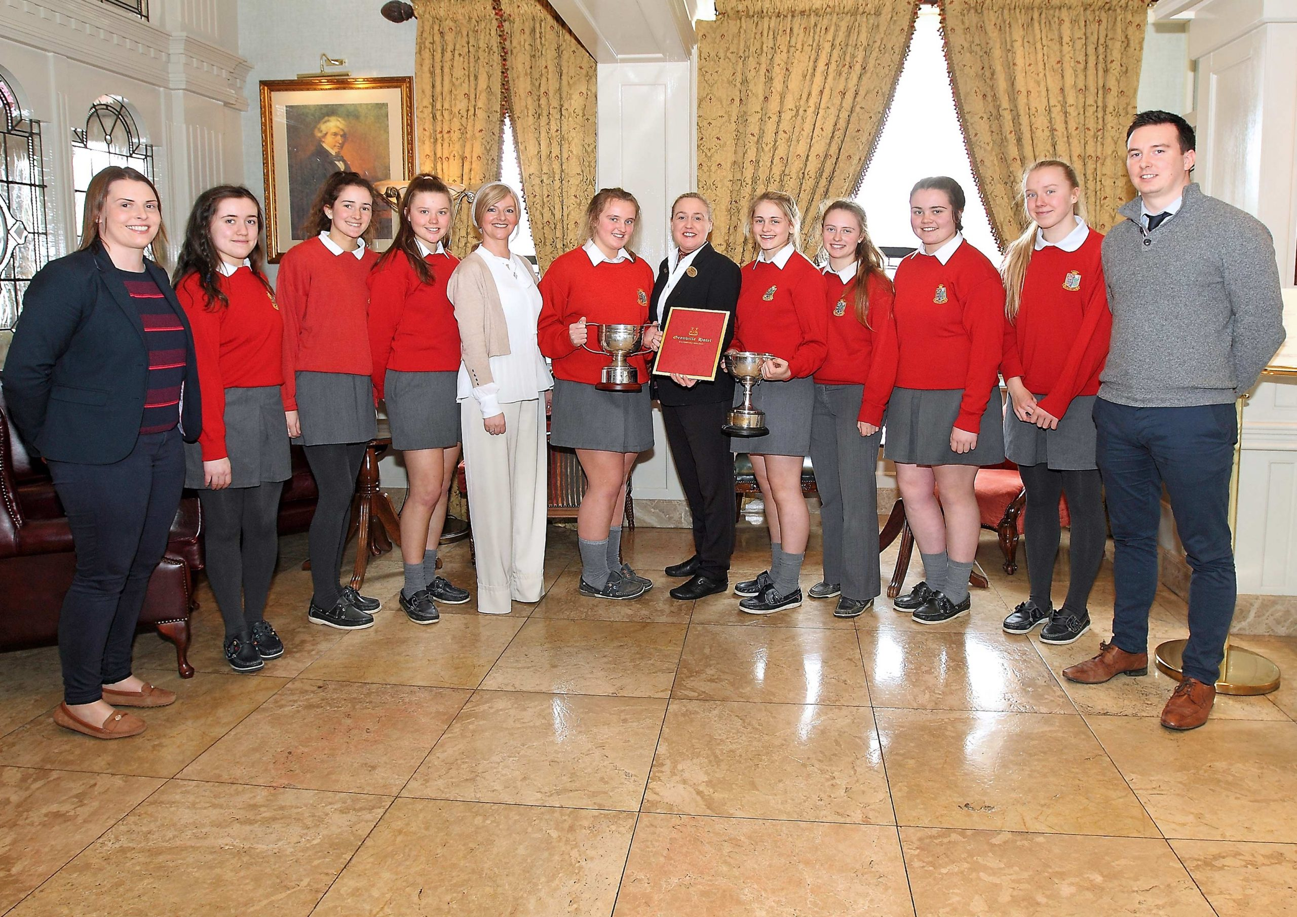 St. Angela's Waterford have secured the March WLR / Granvile Hotel GAA Award