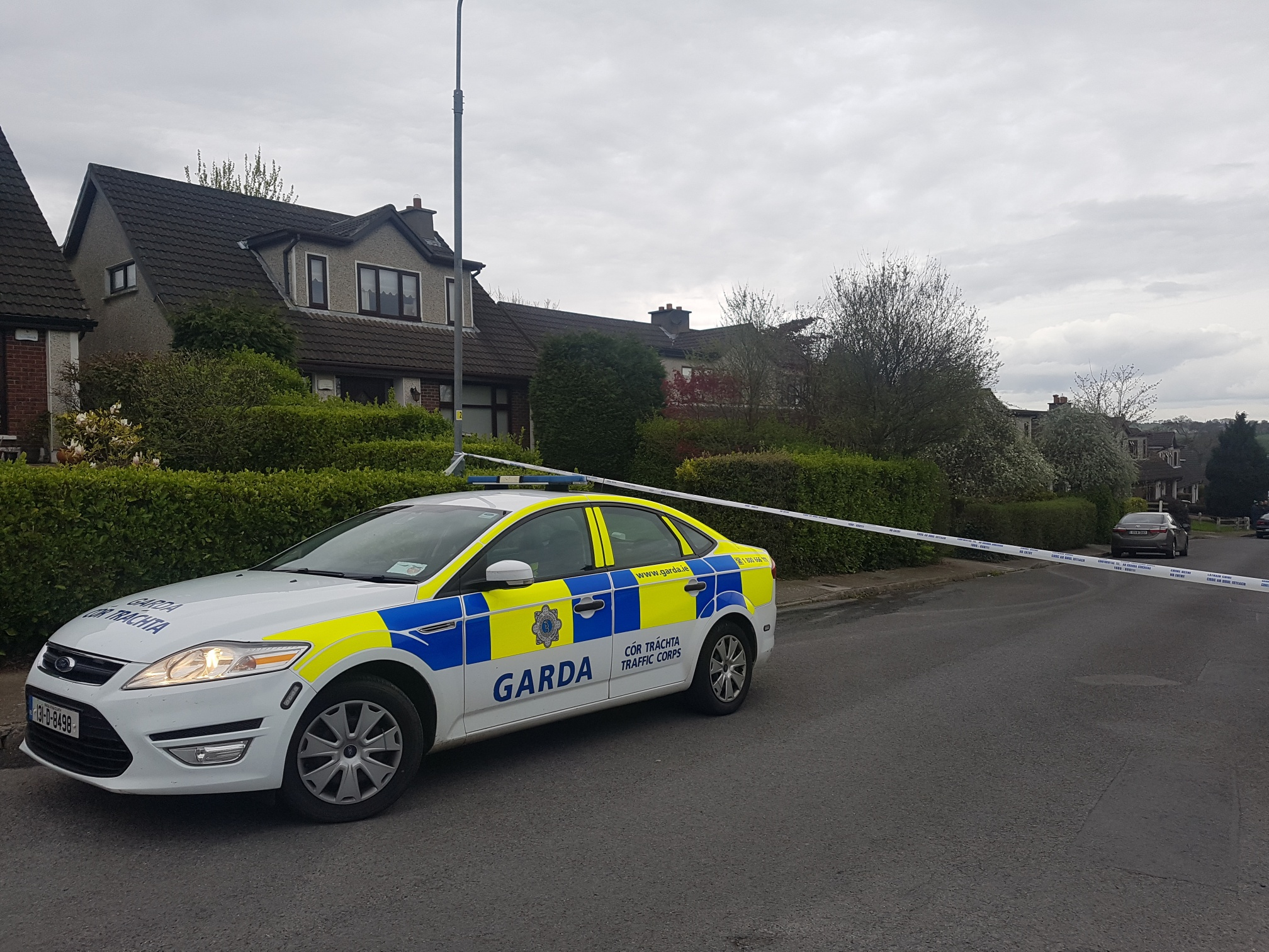 Gardai seek witnesses to bomb scare in Waterford City yesterday.