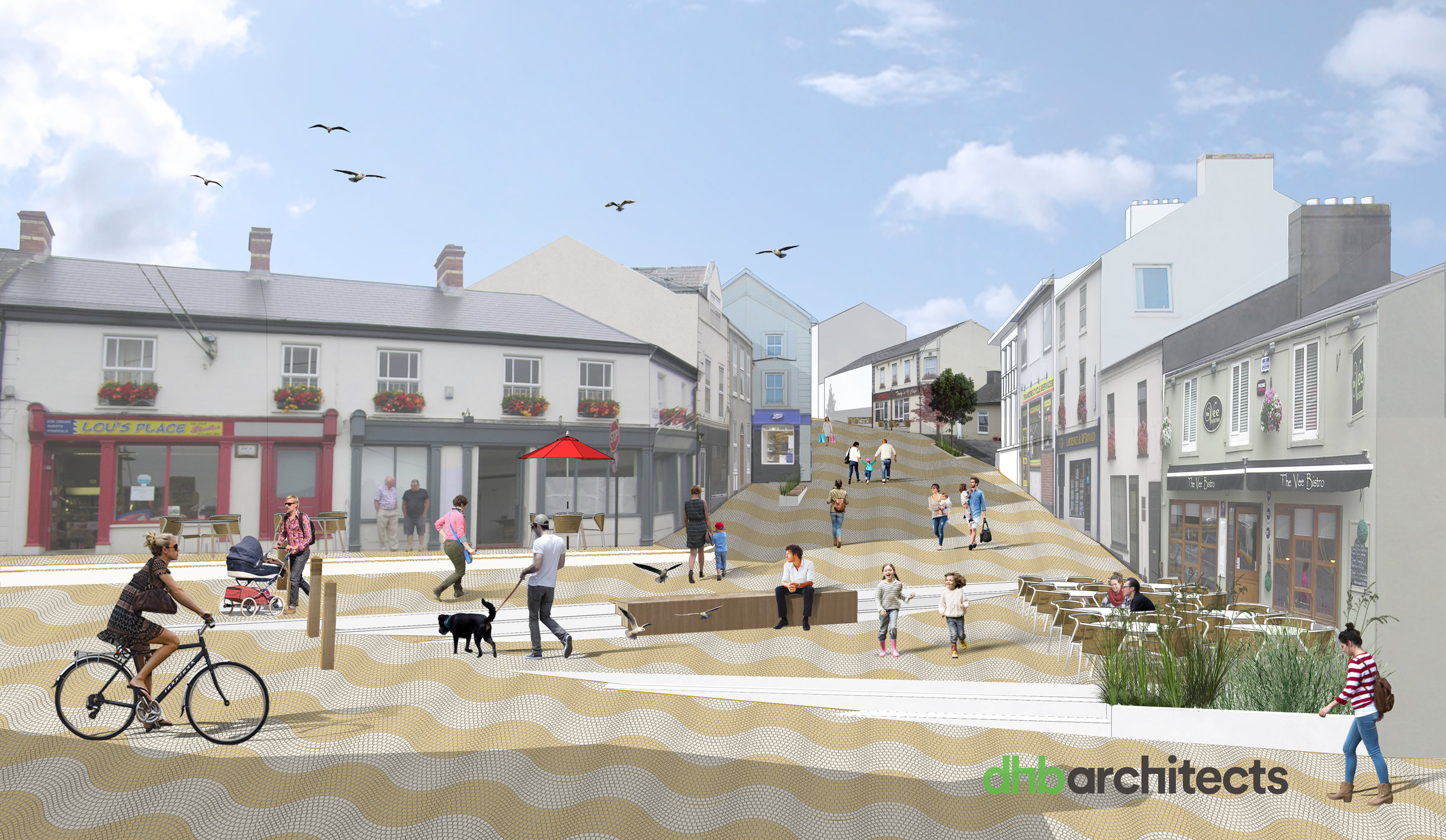 Councillor blames funding shortfall for Tramore on overrun in Dungarvan improvement works.