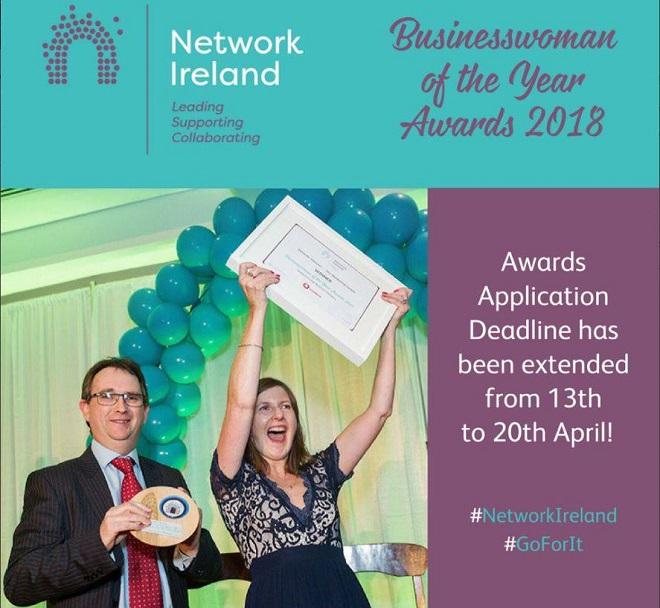 LISTEN BACK: Network Ireland seeks Waterford Businesswoman of the Year