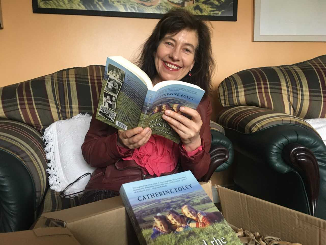 Listen back: Waterford journalist Catherine Foley talks about her newly published memoir