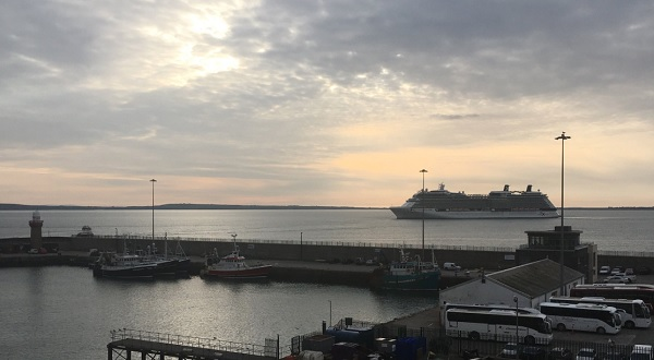 First cruise ship of the season arrives in Waterford