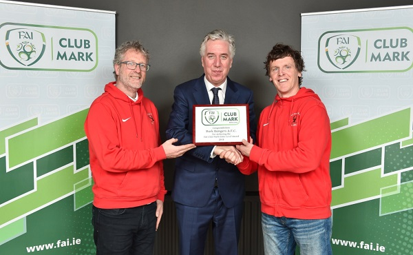 Waterford club receives FAI award
