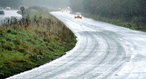 Met Éireann warns of heavy rain and freezing temperatures