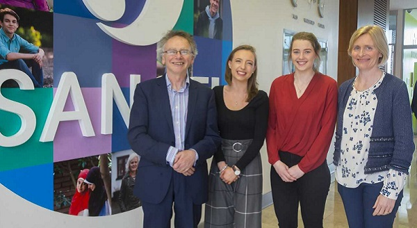 Waterford and Kilkenny students at WIT win Sanofi Future Female Leaders Scholarships