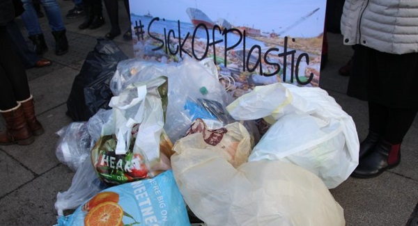 Waterford shoppers are being encouraged to take part in a 'Sick of Plastic' day of action today