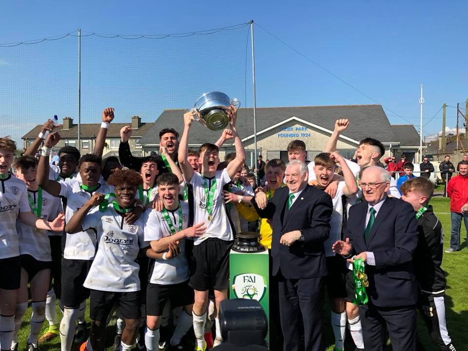 TRAMORE AFC CROWNED FAI YOUTHS CUP CHAMPIONS!