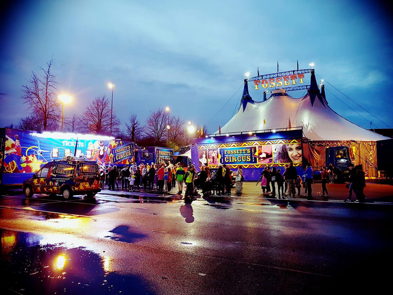Win A Golden Ticket to Fossetts Circus on The Big Breakfast Blaa