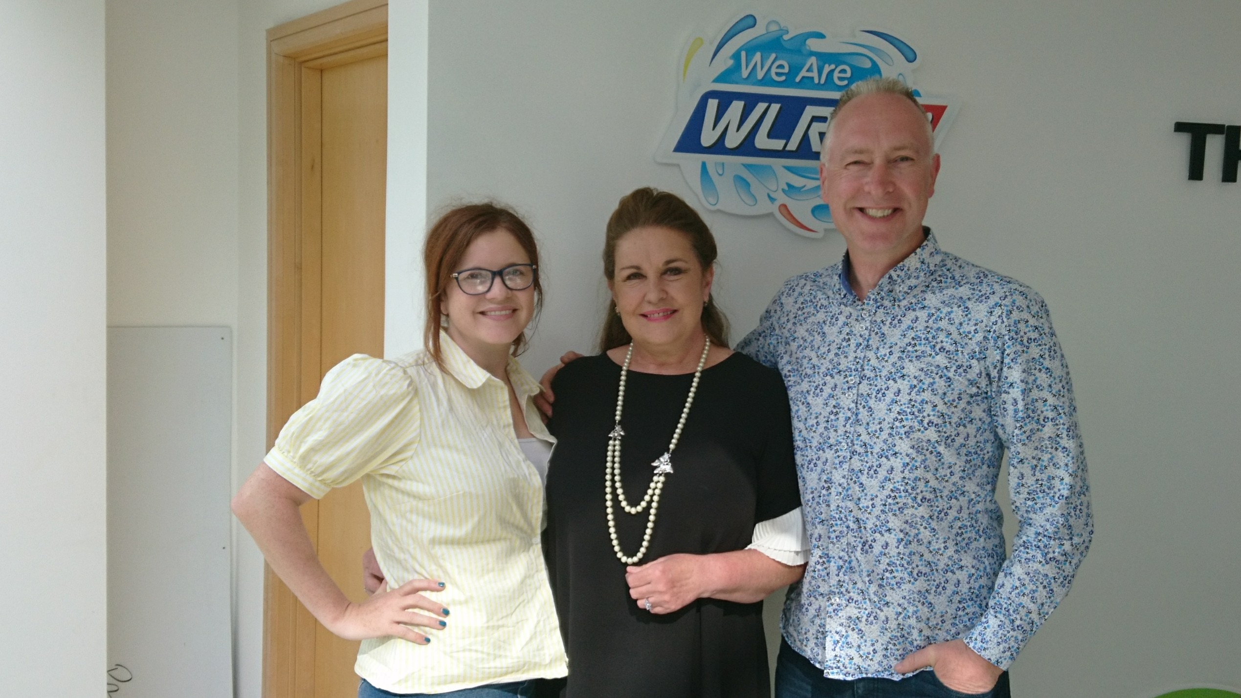 "Marion Fossett spoke to Ollie and Mary on ""The Big Breakfast Blaa"""