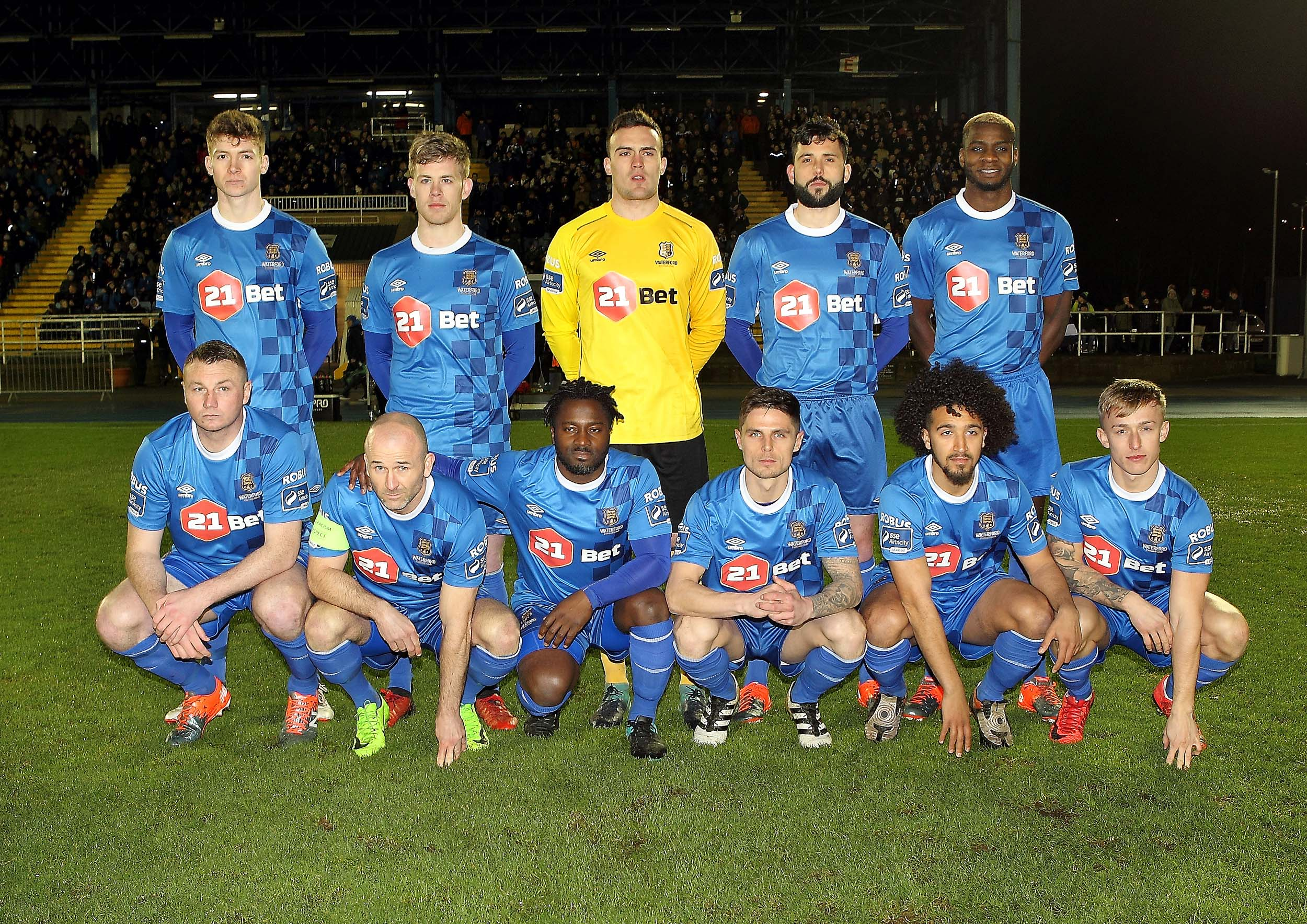 Waterford FC bowed out of the EA Sports Cup last night when they lost one nil to Sligo Rovers in the Showgrounds.
