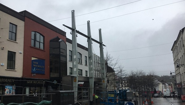 Information Kiosk removed from Waterford City Centre