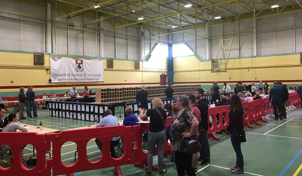 Counting underway in Waterford in the abortion referendum