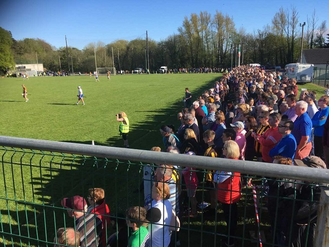 Fantastic support for GAA charity legends match between Waterford and Kilkenny