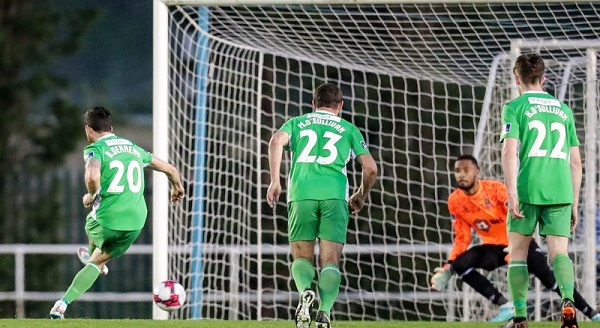 Waterford FC's unbeaten home streak broken by Limerick at the RSC last night