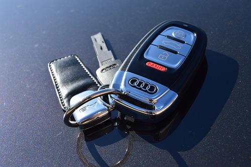 Lost: an Audi car fob