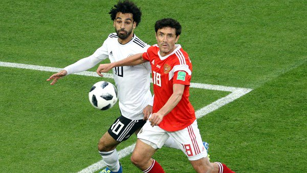 Russia impress again as fit-again Mohamed Salah fails to deny World Cup hosts