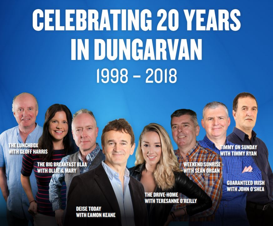 WLR Celebrate 20 years of radio live from Dungarvan