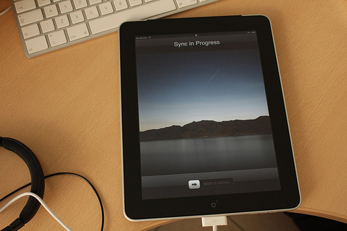 Lost: Apple iPad touch generation 3