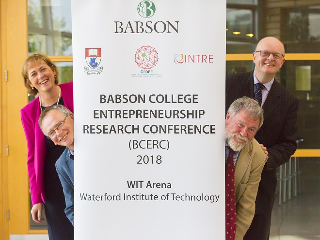 Top international entrepreneurship conference being held in Waterford